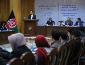'میزان شفافیت در بودجه افغانستان افزایش یافته است'