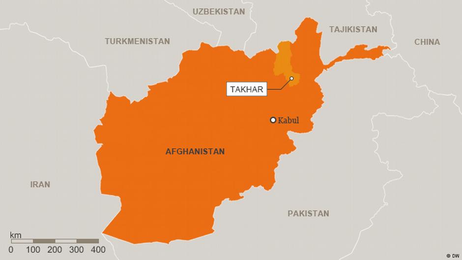 در حمله طالبان در شمال افغانستان ۱۷ نیروی امنیتی کشته شدند