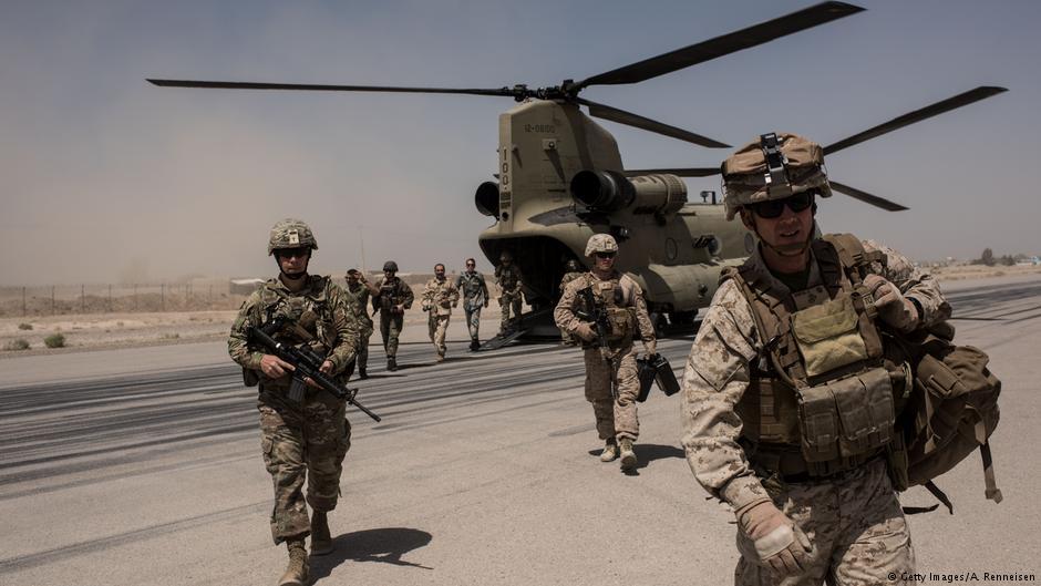ایالات متحده استراتژی خود در قبال افغانستان را تجدید نظر می کند