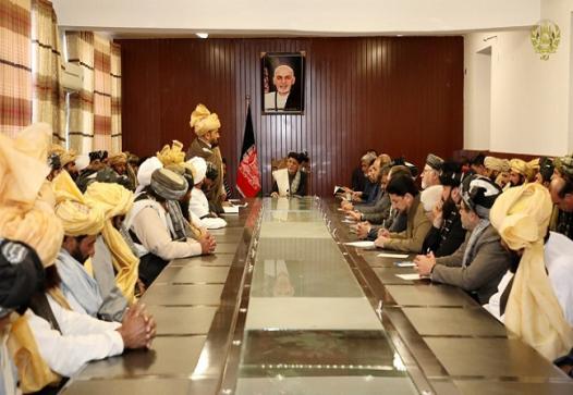 ولسمشر غني: طالبان دې بین الافغاني مذاکراتو ته چمتو شي