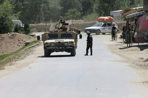 جنگ جاغوری با شکست طالبان پایان یافت/ 9 پولیس همراه با فرمانده پولیس محلی جاغوری شهید و زخمی شدند