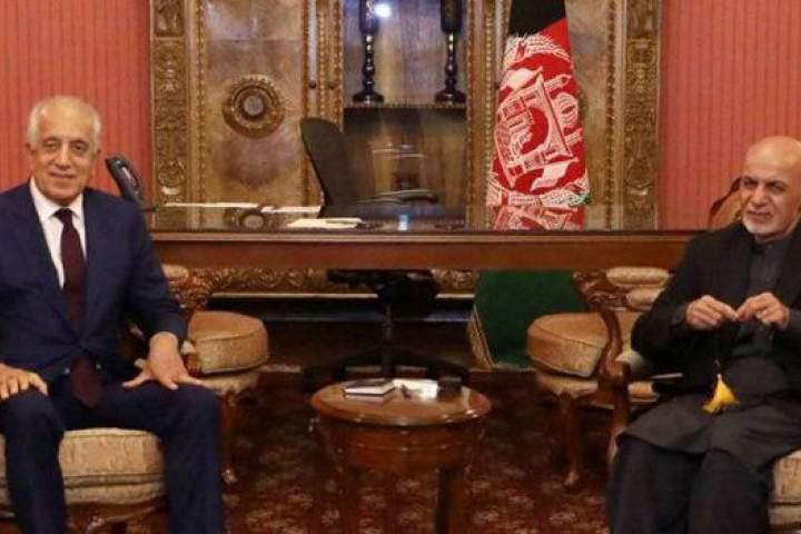 گزارشدهی زلمی خلیلزاد به رییسجمهور/ غنی: اراده ما برای تأمین صلح در افغانستان جدی است