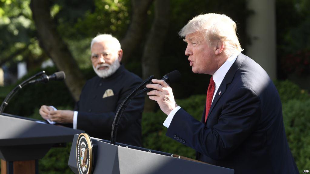 د امریکا او هند مشران پر سوداګرۍ او په افغانستان کې پر همکارۍ وغږېدل