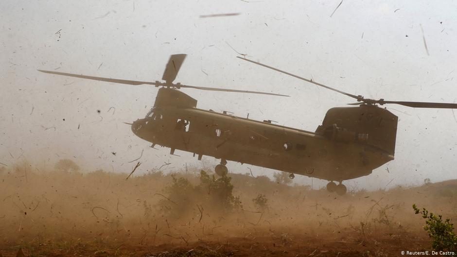 یک هلیکوپتر نیروهای ایالات متحده در افغانستان تخریب شد