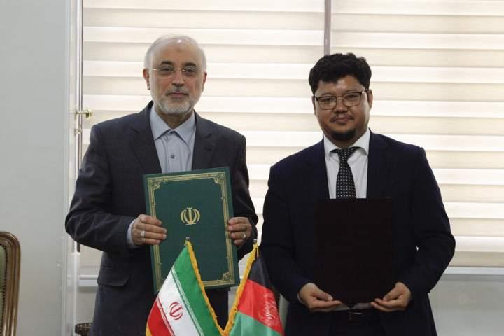 امضای تفاهمنامه همکاریهای صلحآمیز هستهای میان افغانستان و ایران