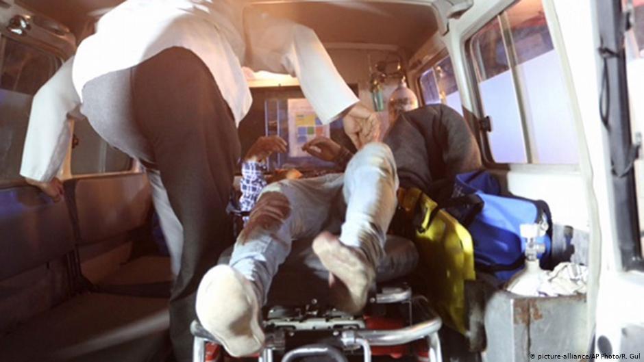 انفجار ماین کنار جاده جان ۹ کودک دانش آموز را در تخار گرفت
