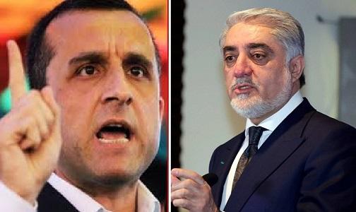 امرالله صالح: د عبدالله ټیم متعصب، معامله ګر او له افغانستان وافغانیته منکر ټیم دی
