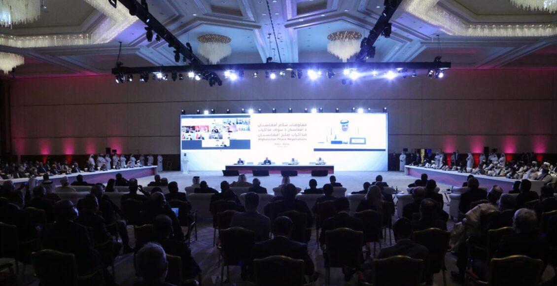 په قطر کې د افغان سولې مقدماتي غونډه تاریخي پېښه وبلل شوه ۱ ساعت مخکې