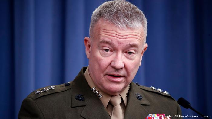 جنرال مککنزي: د سولې برخه کې پر طالبانو ډېر شک لرو خو ګورو چې څه کوي؟