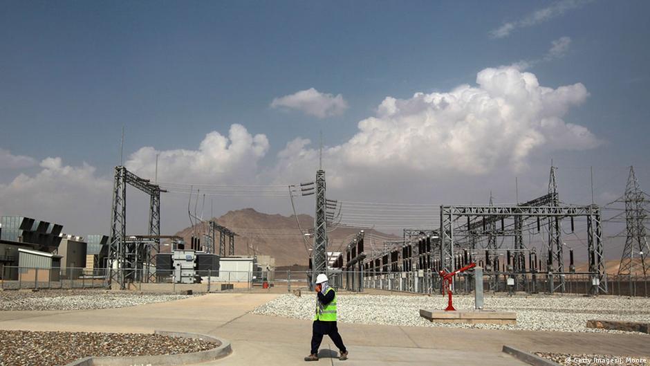 سرمایه گذاری ۴۰۰ میلیون دالری شرکت چینی روی تولید برق در افغانستان